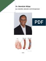 Dr. Bandula Wijay Bio