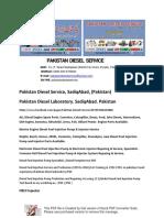 Pakistan Diesel Service