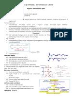 Reglarea Si Patologia Metabolismului Lipidic