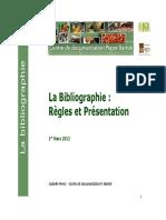 La Bibliographie - Règles et Présentation.pdf