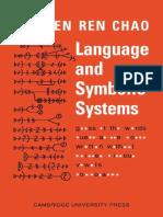 Language and Symbolic Systems - Yuen Ren Chao.pdf