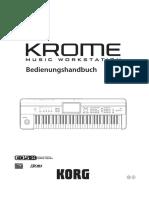 If82367Bedienungsanleitung Korg Krome 79