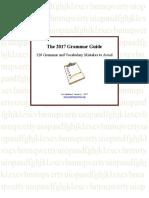 The 2017 Grammar Guide