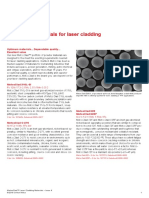 Flyer-Laser Cladding EN6