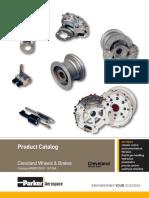 Parker Cleavland wheels Illustrated parts catalog