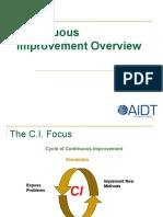 CI Overview Presentation