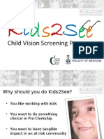 Kids2See Orientation Slideshow