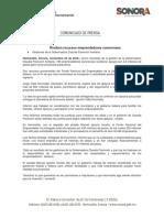 22/11/16 Reciben Recursos Emprendedores Sonorenses -C.111689