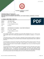 HBOE Full Agenda January 2017
