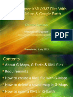 Create & Open KML-KMZ Files With Google Maps & Google Earth