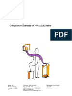 Configuration Examples for FAS2220 Systems