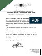 Projet Decret 2.15.303-NV Fr