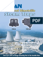 High Pressure Steam Trapping