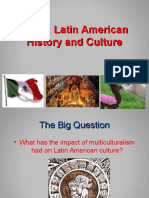 History and Culture of Latin America and the Caribbean