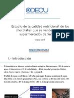 Presentacion Estudio Chocolates 17enero2017