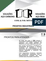T&R - Comércio e Indústria de Metal - 2017