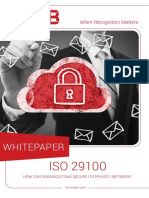 30 Whitepapers Iso 29100 How Can Organizations Secure Its Privacy Network