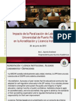 La Middle States y la UPR