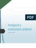 Geotecnia Ambiental 2015 - Investigação e Monitoramento Ambiental