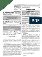 RESOLUCION MINISTERIAL N° 006-2017-PCM