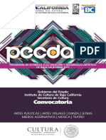 Baja California Convo PECDA 2016-2017
