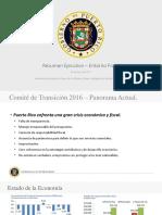 Informe de Transición del Gobierno de Puerto Rico
