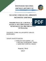 Trabajo de Aguas Para Exponer Industria Petrolera Liaaaaa (2)