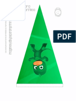 Banderin de Pj Masks de Cumpleaños Paraimprimir