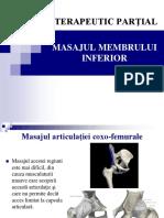 Curs Masajul Extremitatii Inf