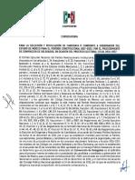Convocatoria PRI-Edomex