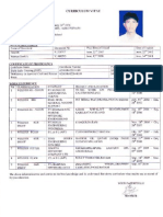 Sample CV Coplited Application's