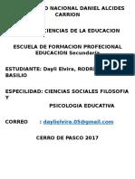 Univercidad Nacional Daniel Alcides Carrion