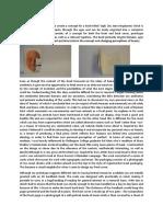 evaluation of final piece