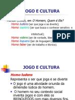 Aula - Jogo e Cultura