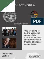 aboriginal activism