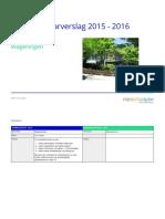 Jaarverslag Margrietschool 2015-2016