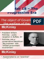 chapter 18 the progressive era