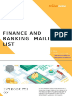 Finance and Banking Mailing List