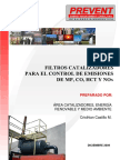Brochure Filtros Catalizadores 2009