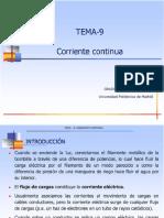 Lecture 9 - Corriente Continua (1)
