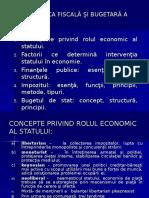 t.12 Politica Fiscală Şi Bugetară a Statului