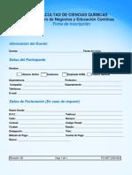 Ficha de Preinscripción UANL