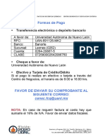 Formas de Pago UANL