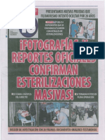 Esterilizaciones Forzadas Diario 16