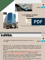 6.- Ley General de Bienes Nacionales 81016
