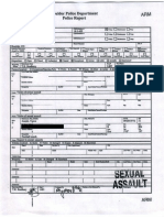 Vance Joseph Police Report Redacted