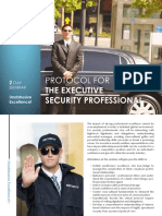 Protocol for the Executive Security Professional