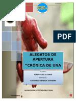 Alegatos Crónicas de Una Muerte Anuciada (Fiscal)