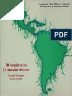 Diez arquitectos latinoamericanos