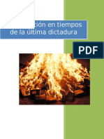 La educación en tiempos de la última dictadura